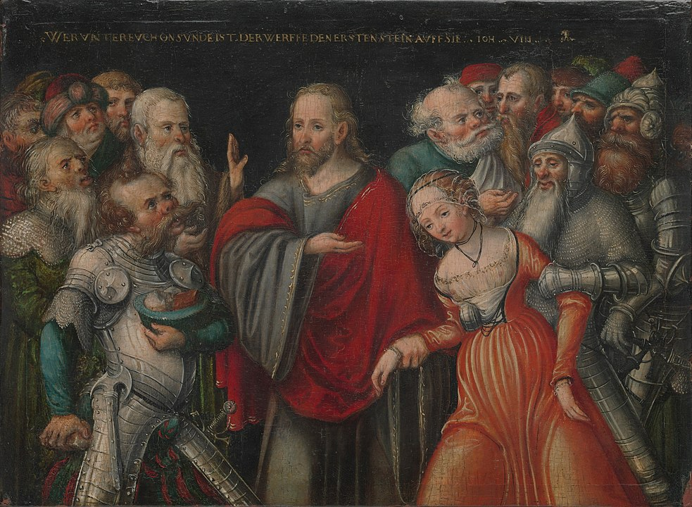 By Lucas Cranach the Younger and workshop - Metropolitan Museum of Art, online collection (The Met object ID 436034), Public Domain, https://commons.wikimedia.org/w/index.php?curid=30716980